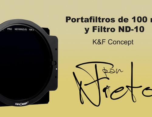 Portafiltros y ND-10 de K&F